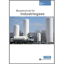 New thematic brochure: Measurement technology for industrial gases