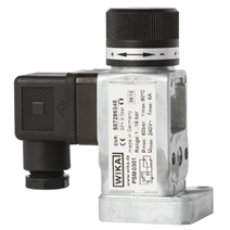 New pressure switch: More operator convenience through adjustment knob