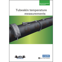 Tubeskin temperature measurements: New WIKA brochure