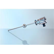 Reed level transmitter suitable for food applications