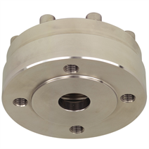 Diaphragm seal with flange connection