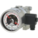 Differential pressure gauge with switch contacts